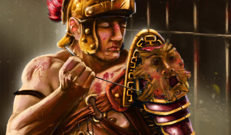 Lupte cu gladiatori, la Sarmisegetuza