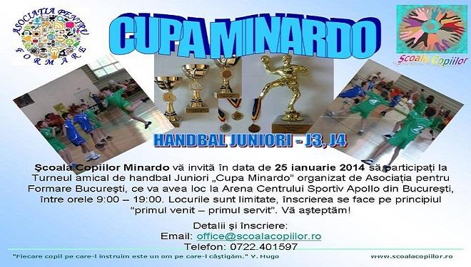 Cupa Minardo la handbal