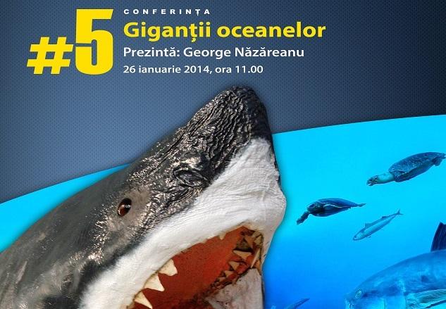 Giganţii oceanelor, la Muzeul Antipa