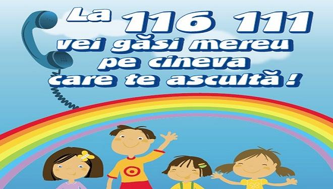 În 2013 – Şapte cazuri de abuz asupra copiilor înregistrate pe zi la 116111