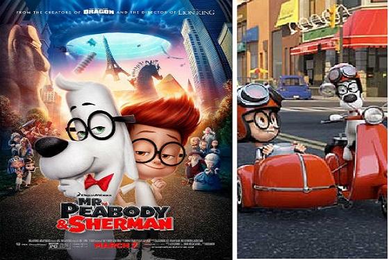 Dl.Peabody şi Sherman – eroii unui dezastru animat