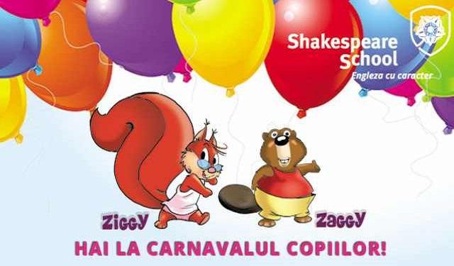 Carnaval în engleză cu Ziggy şi Zaggy