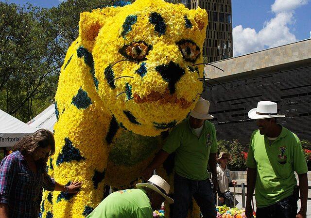 Festivalul florilor, in Columbia