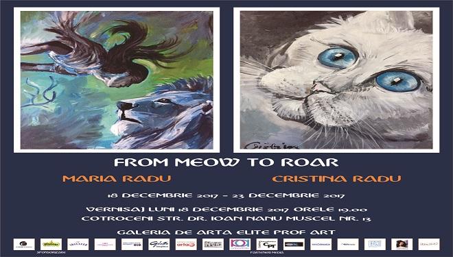 From Meow to Roar, artă cu pasiune, la doar 11 ani