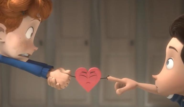 A fost lansat primul desen animat despre dragostea dintre doi băieței