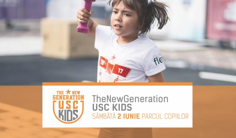Copiii supereroi și sportivi se întrec la The New Generation: USC Kids