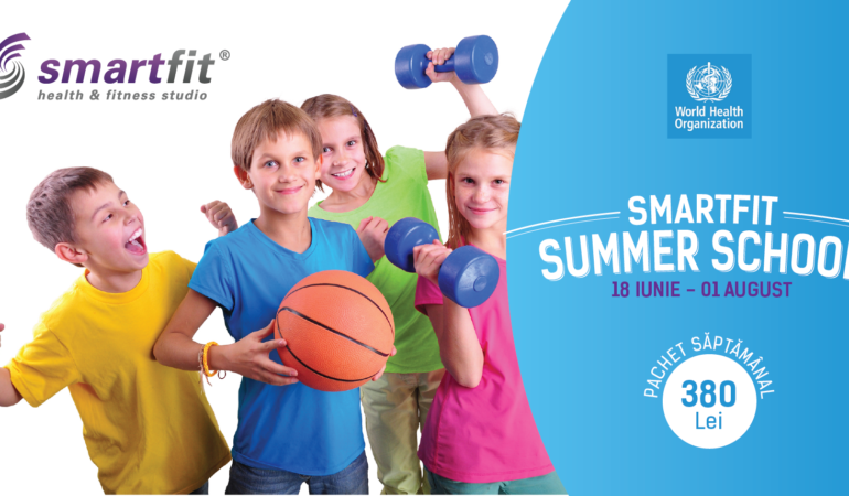 Începe Smartfit Summer School la Timișoara. Cu o mulțime de activități sportive și educative pentru copii