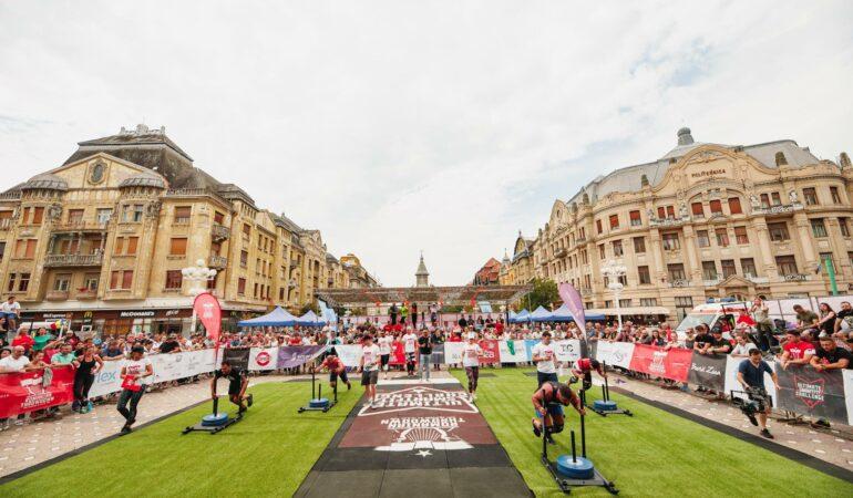 Cei mai buni atleți din Europa concurează la Timișoara