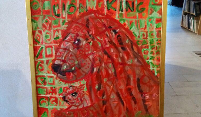 Expoziție de pictură cu altfel de regi și regine