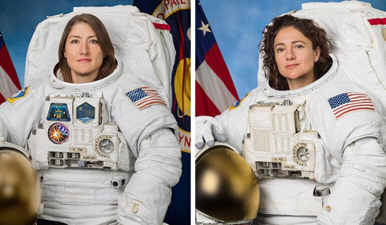 Moment istoric. Două femei astronaut de la NASA, misiune exclusiv feminină în spațiul cosmic