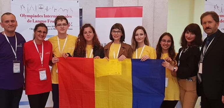 Nouă premii pentru echipa României la Olimpiada Internațională de Limba Franceză