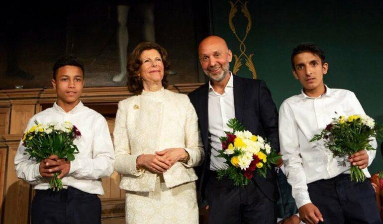 Un român premiat de Regina Silvia a Suediei pentru apărarea drepturilor copiilor