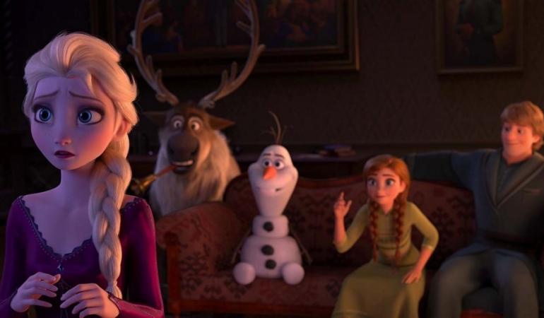 Elsa şi Anna revin. FrozenII în curând în cinema!