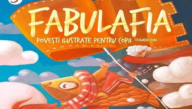 Fabulafia – o revistă de poveste pentru iubitorii de lectură și ilustrații