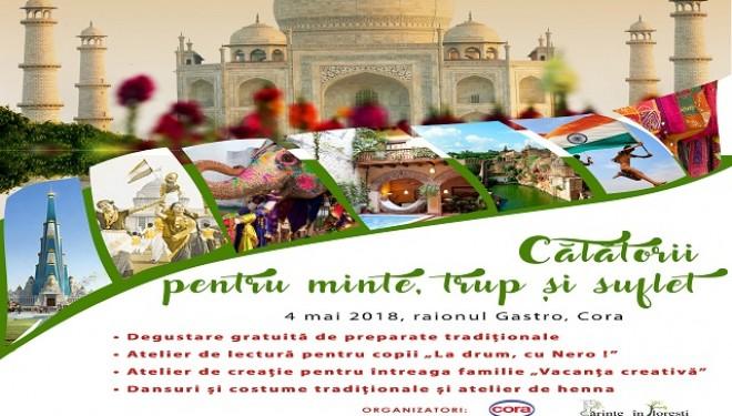La Cluj, pentru părinții și copii: Vacanță creativă imaginară în India