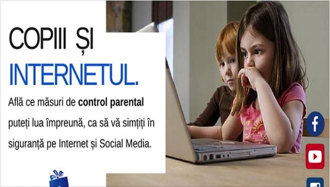 Copiii și internetul. Cum să îi ții în siguranță online