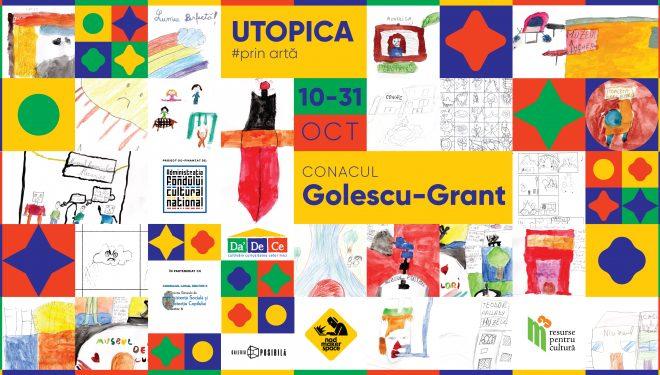 Utopica, o expoziție pentru copii cu bilet de ieșire, nu de intrare