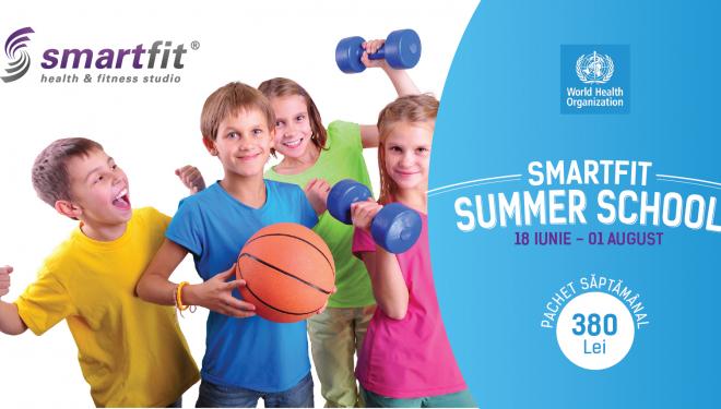 Fii cool, fă scort! Începe prima tabără urbană. Smartfit Summer School înseamnă activități sportive și educative pentru copii