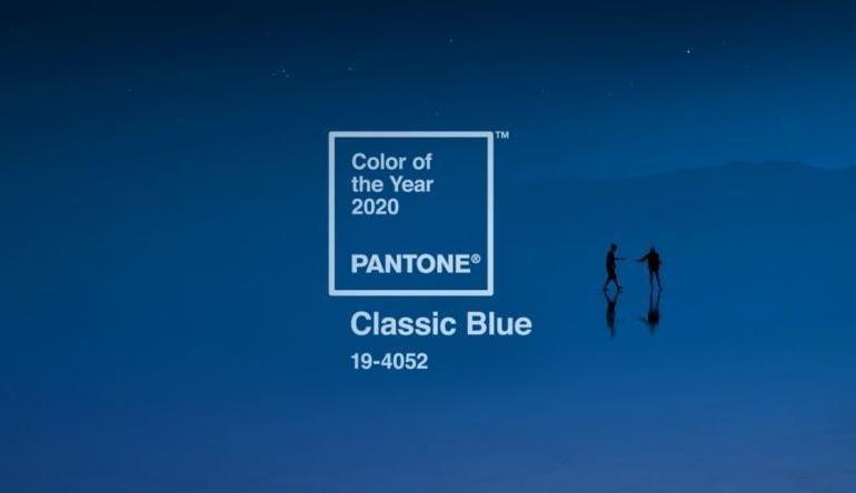 Albastrul clasic este culoarea anului 2020