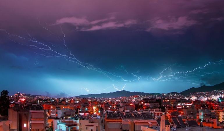 Astrafobia, frica de tunete și fulgere