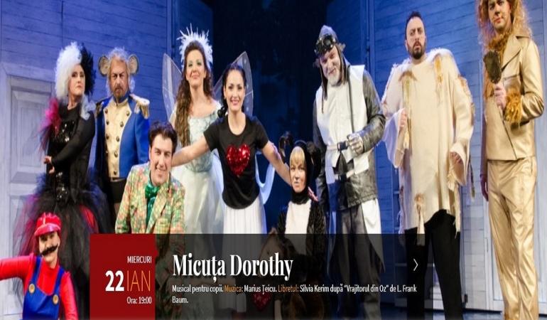 CONCURS! Opera din Timișoara și ŞTIRI PENTRU COPII vă invită la întâlnirea cu Dorothy și Vrajitorul din Oz!
