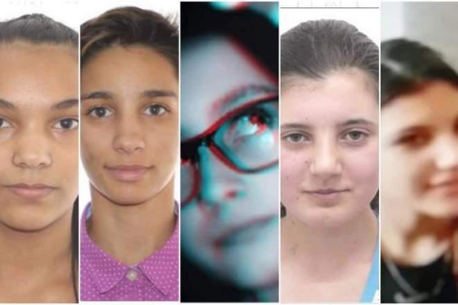 Cinci adolescente au dipărut de joi