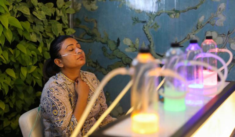 Baruri cu oxigen în India. Nu e un moft, ci o necesitate
