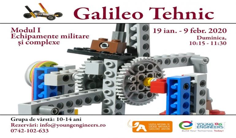 Galileo Tehnic – fizică, matematică și inginerie la Antipa