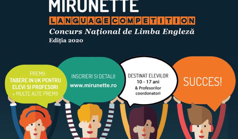 Înscrie-te la Mirunette Language Competition și câștigă o tabără în Marea Britanie