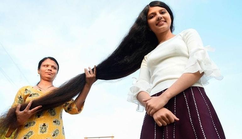 Rapunzel din India, fata cu cel mai lung păr din lume