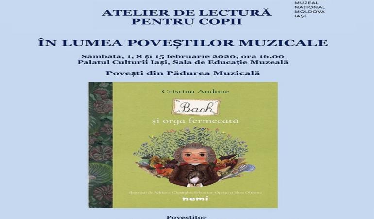 """Iași: Ateliere de lectură pentru copii """"Bach și orga fermecată"""". Aflați când și unde"""