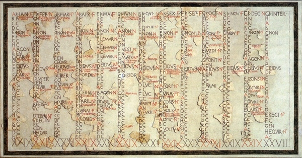 calendar datând istoria