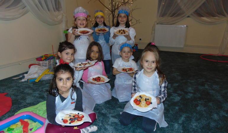 De mici în bucătărie – Atelier de gătit pentru copii