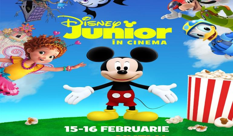 "CONCURS: Mickey Mouse revine pe marele ecran! Câștigă o invitație la ""Disney Junior în Cinema""."