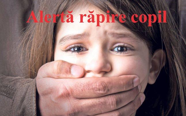 Alerta răpire copil, nu rămâneți indiferenți! Ce se întâmplă când dispare un copil