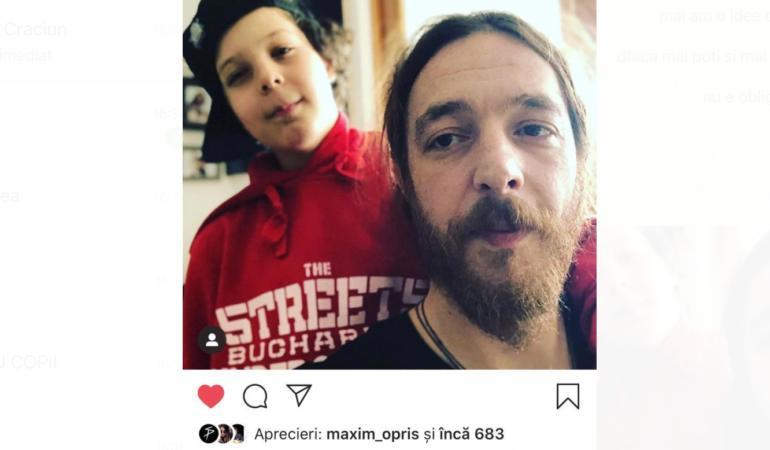 Ce surpriză i-a făcut fiul său, Micha, lui Mc Bean, de 14 februarie