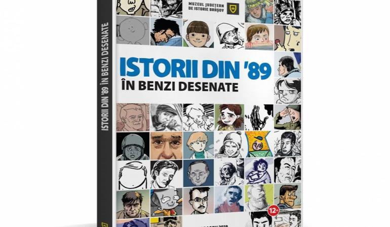 """""""Istorii din '89 în benzi desenate"""" se lansează  în București"""