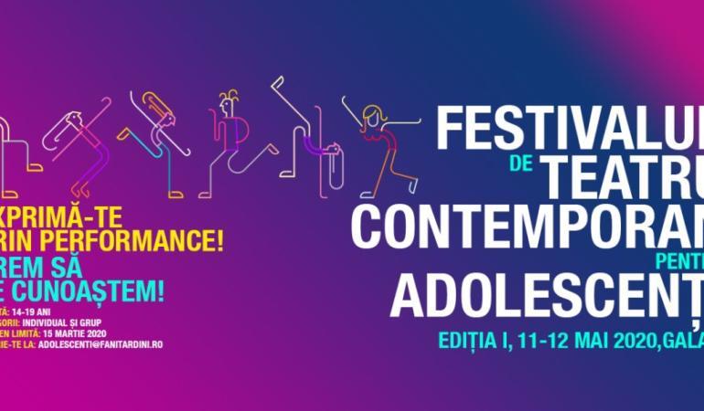 Festival de Teatru Contemporan pentru Adolescenți. Când are loc prima ediţie