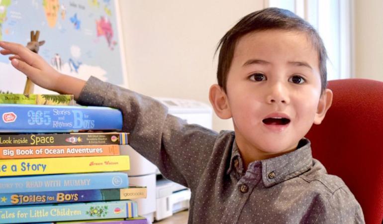 Cel mai tânăr geniu din lume are… trei ani