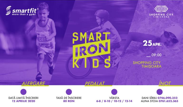 Au început înscrierile pentru Triatlonul copiilor, Smart Iron Kids