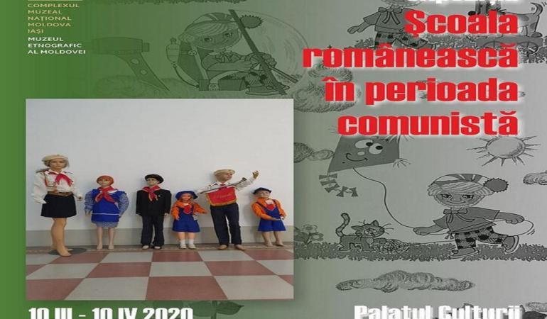 Școala românească în perioada comunistă – reconstituire inedită la Iași