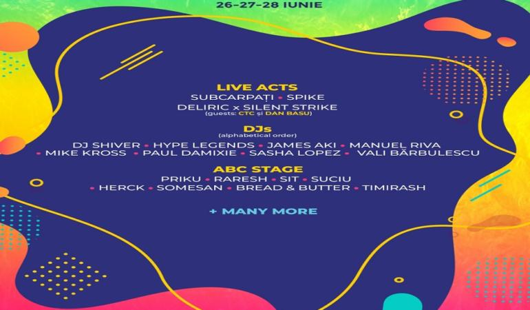 Dive into the fun, dive into life – la Arad Open Air Festival 2020
