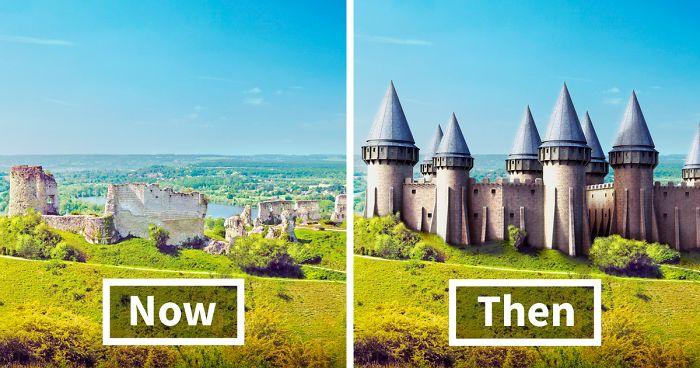 Castele de poveste, devenite acum ruine