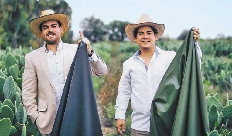 CAMPANIA ȘTIRI POZITIVE. Doi tineri au creat o piele vegetală din cactuși