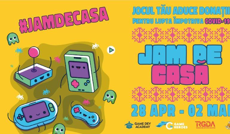 Jam de Casă. Cea mai mare librărie online de jocuri video din România. Atenție…. start!