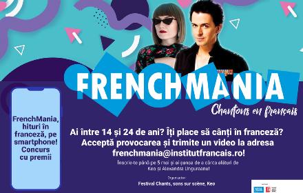 Știți cântece în franceză? Concurs online pentru adolescenți, cu premii în bani