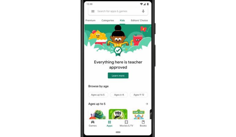 Aplicații aprobate de profesori în Google Play