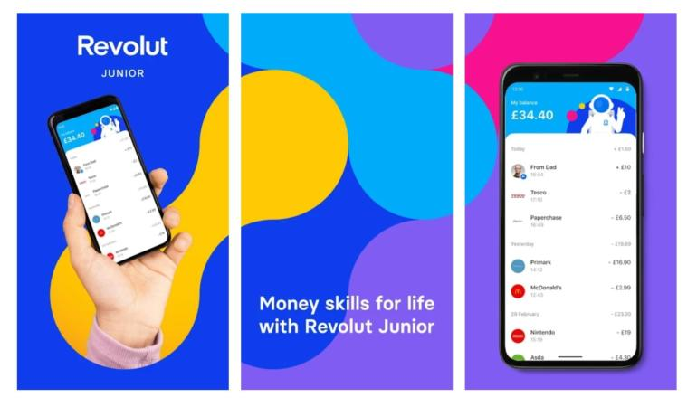 Educație financiară pentru copii cu Revolut Junior