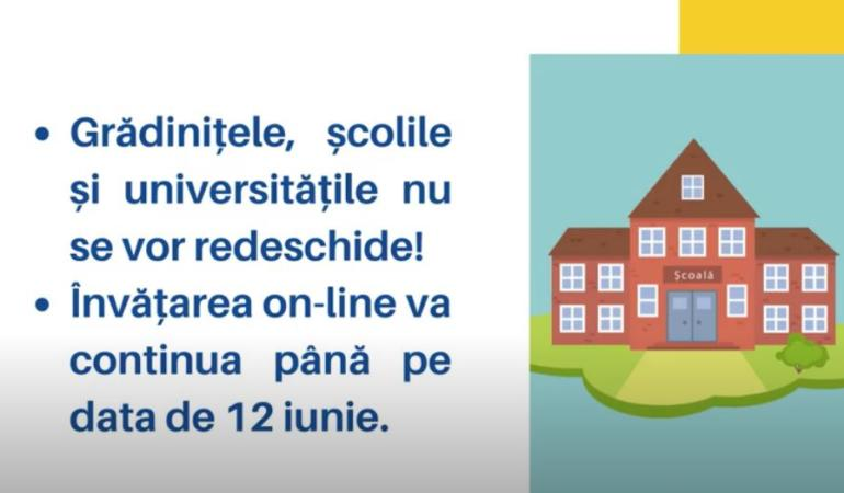 Ministerul Educației și Cercetării anunță  – măsurile luate în sistemul românesc de învățământ