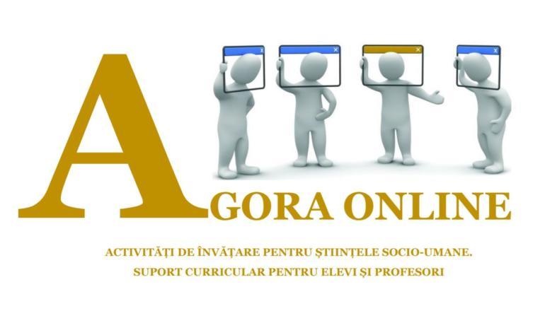 Agora online – suport curricular pentru elevii și profesorii din Iași